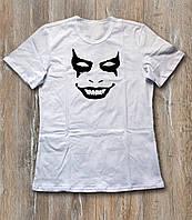 Футболка мужская Джокер Joker белая  (РЕПЛИКА)
