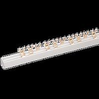 Шина соединительная типа FORK (вилка) 2Р 63А, длиной 1м IEK