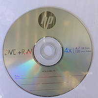 Диск DVD+RW Hewlett-Packard 4,7 GB 4x Cake box 10