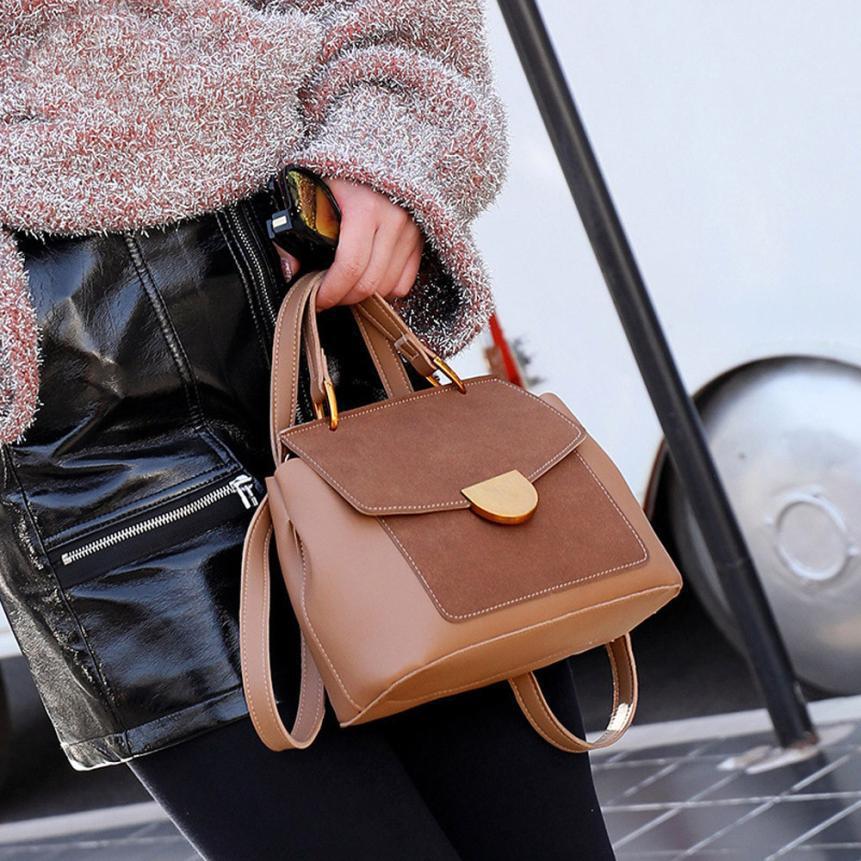 Женская сумка через плечо Molly Коричневый