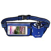 Сумка на пояс з пляшкою для води та сенсорним екраном для смартфона BFSport, фото 1