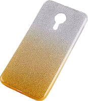 Чехол-накладка TOTO TPU Case Rose series Gradient Meizu M5 Yellow