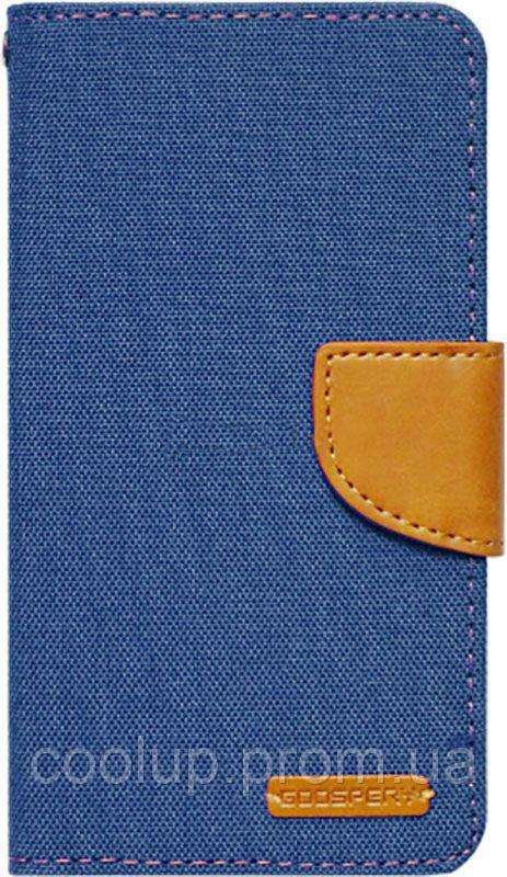 Чехол-книжка Goospery Canvas Diary Universal 4.5'-5.0' Denim, фото 1