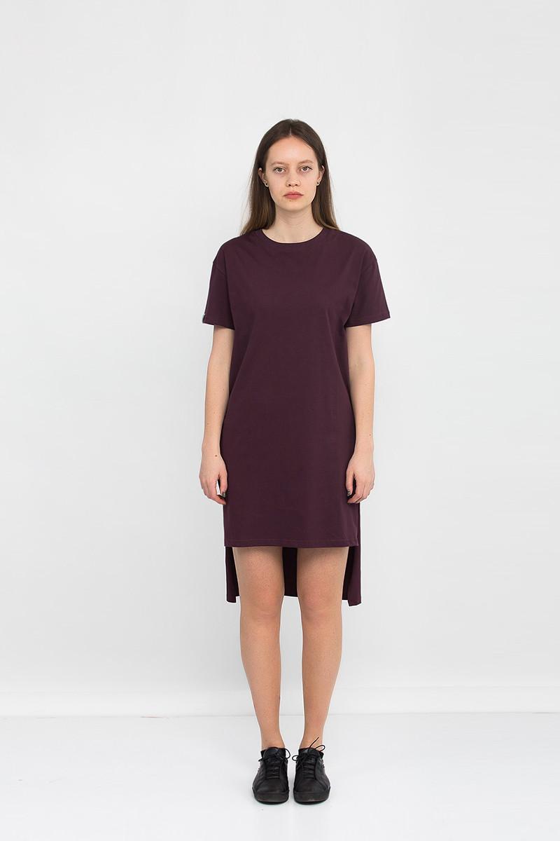 Платье туника женская BASIC TUN WINE Urban Planet (модное платье, плат
