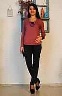 """Блуза для беременных и кормящих """"Аметист"""" р. 46-50 ТМ NowaTy Сиреневый 15020303, фото 1"""