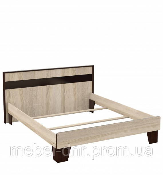 Кровать 160 без основания под матрас Эшли Империал 1750*900*2052