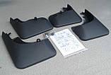 Брызговики пластик, под оригинал volkswagen touareg II (фольксваген туарег 2) 2010г+, фото 7