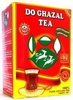Чай черный среднелистовой рассыпной Akbar Do Ghazal 500g
