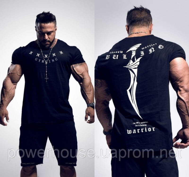bf3c13c849495 Мужская спортивная футболка Bulking черная - купить по лучшей цене в ...