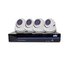Комплект видеонаблюдения ATIS Professional Kit IP 4int