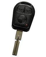 Заготовка корпус ключа BMW  E36 E38 E39 Z3, 3 кнопки лезвие HU58