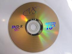 Диск DVD-R для видео VS 16x Bulk/50