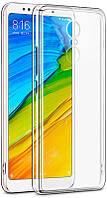 Чехол-накладка TOTO TPU case clear Xiaomi Redmi 5 Plus Transparent