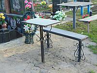 Лавка на кладовище С-6
