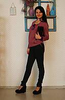 """Брюки для беременных """"Классика жанра-2"""" р. 42-48 ТМ NowaTy Черный 15020205, фото 1"""