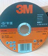 Отрезной круг 3M  inox для нержавеющей стали 125 х 1 х 22 мм. 68011, фото 1