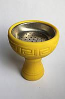 Силиконовая чаша с металлической вставкой