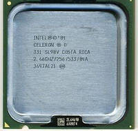 Процессор Intel Celeron D 331, 2.66 GHZ/256/533