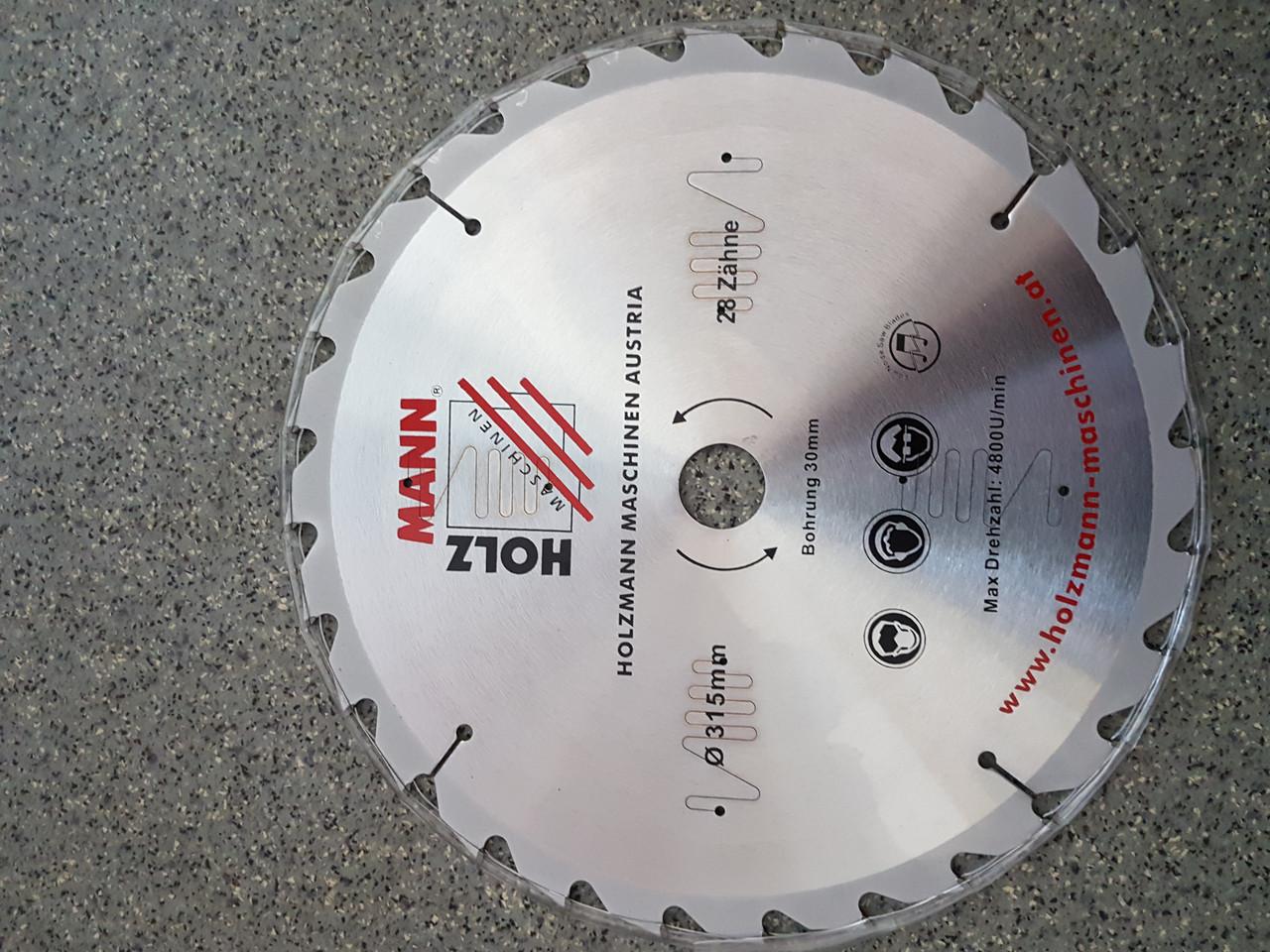 Дисковая пила универсальная/набор дисковые пилы по дереву KSB300 HOLZMANN