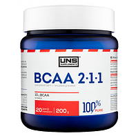 UNS BCAA 2:1:1 200 g