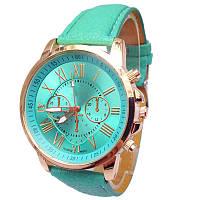 Кварцевые наручные часы Зеленые