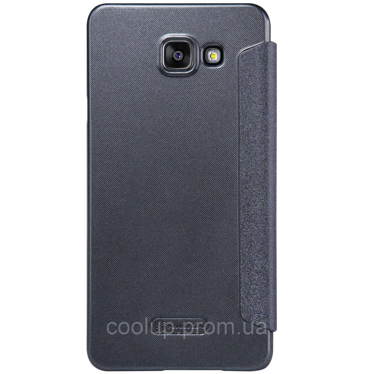 Чехол-книжка Nillkin Sparkle case Samsung GalaxyA5A510 Black, фото 1