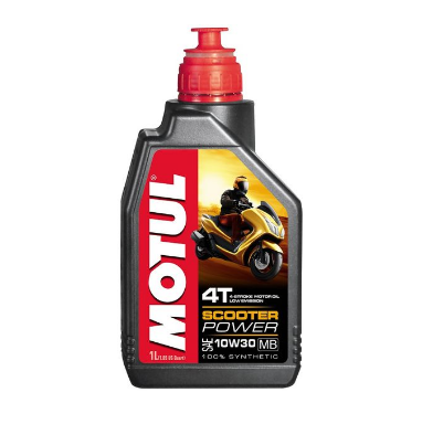 Масло моторное Motul Scooter Power SCOOTER POWER 4T 10W-30 MB 1Л