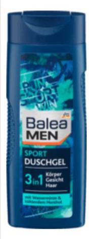 Гель для душа Balea Men Sport Duschgel 3 в1 300 ml, фото 2