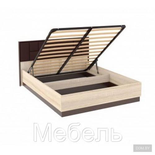 Кровать 160 с подъемным механизмом и мягким изголовьем Эшли Империал 1750*1004*2078