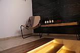 Кресло для отдыха в стиле лофт в коже, фото 2
