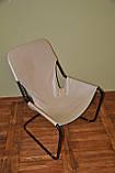 Кресло для отдыха в стиле лофт в коже, фото 3