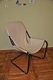 Кресло для отдыха в стиле лофт в коже, фото 4