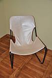 Кресло для отдыха в стиле лофт в коже, фото 6