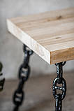 Столик журнальний в індустріальному стилі, фото 5