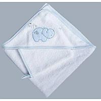 Набор банный  HIPPO (2 предмета) (Синий)