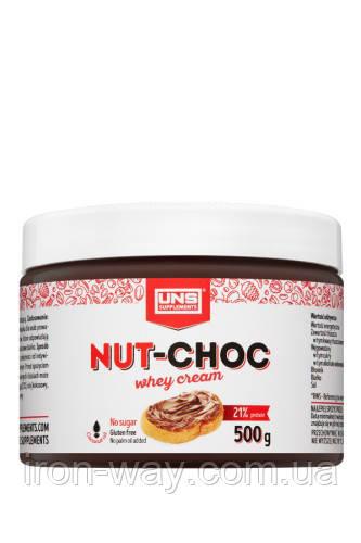 UNS Choco Nut Whey Cream 500 g