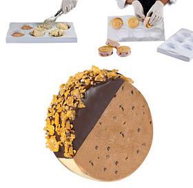10-0078 Набор форм для мороженого Martellato O78мм,18шт,1 подставка и 3 формы