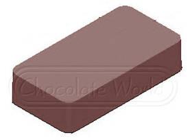 1000L30 Форма для шоколада Прямоугольник Chocolate World 275x135x24мм, 11 гр