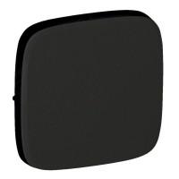 755008 Лицевая панель 1-кл простого, проходного и кнопочного выключателей, черный Legrand Valena Allure