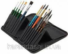 Пенал Pinax для кистей с короткой ручкой 14 отд + 2 кармана ZIPCASE-S-6-8