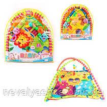 "Развивающий коврик для младенца в сумке ""Солнышко"", 006-028, 008464"