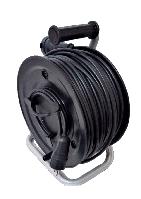 Электрический удлинитель на катушке без з/к с выносной розеткой  30м (ПВС 2*1,5)ТМ ФЕНИКС