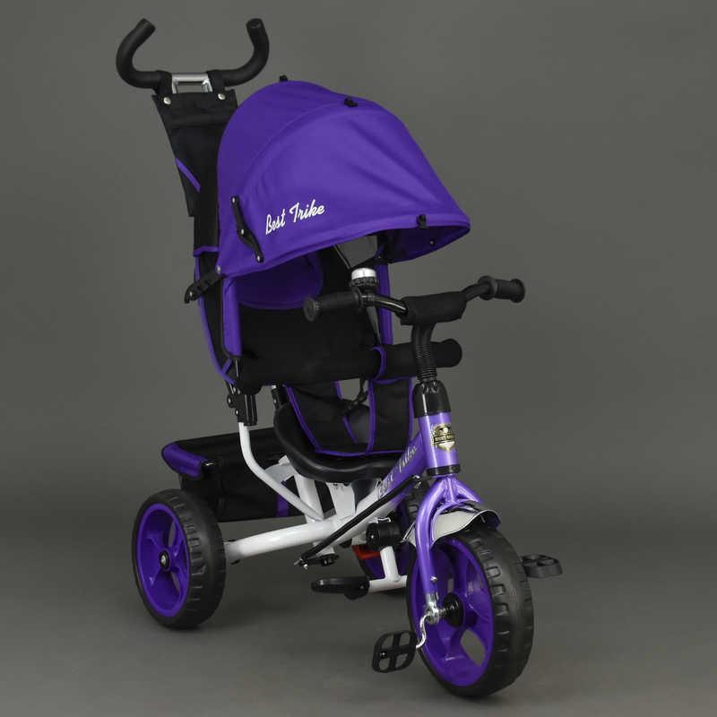 Велосипед 6570 3-х колёсный Best Trike фиолетовый