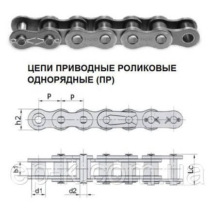 Цепи ПР - 19,05-4000-1 (ISO 12АН-1) ГОСТ 13568-97, фото 2
