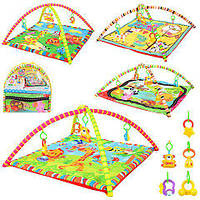 Развивающий коврик для младенца Дуга в сумке, 134-5-8-9, 008463