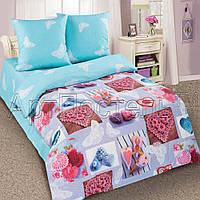 Детское постельное белье в кроватку Ажур, поплин 100%хлопок