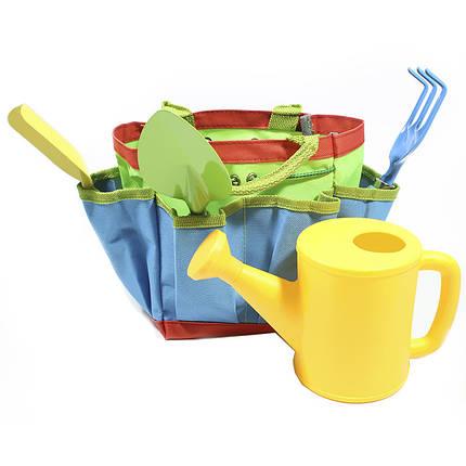 ☀Набор для садовника ZHENJIE КТ-306 Гусеница детская игрушка для детей и игры в песочнице, фото 2