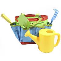 ☀Набор для садовника ZHENJIE КТ-906 Жабка детская игрушка для детей и игры в песочнице