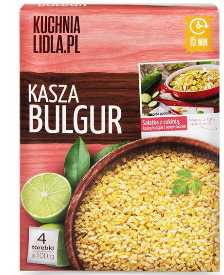 крупа Kuchnia Lidla Kasza Bulgur 400g