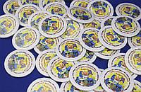 Закатные значки для школ. Значки для выпускников. Значки на одежду. Значки с изображением.